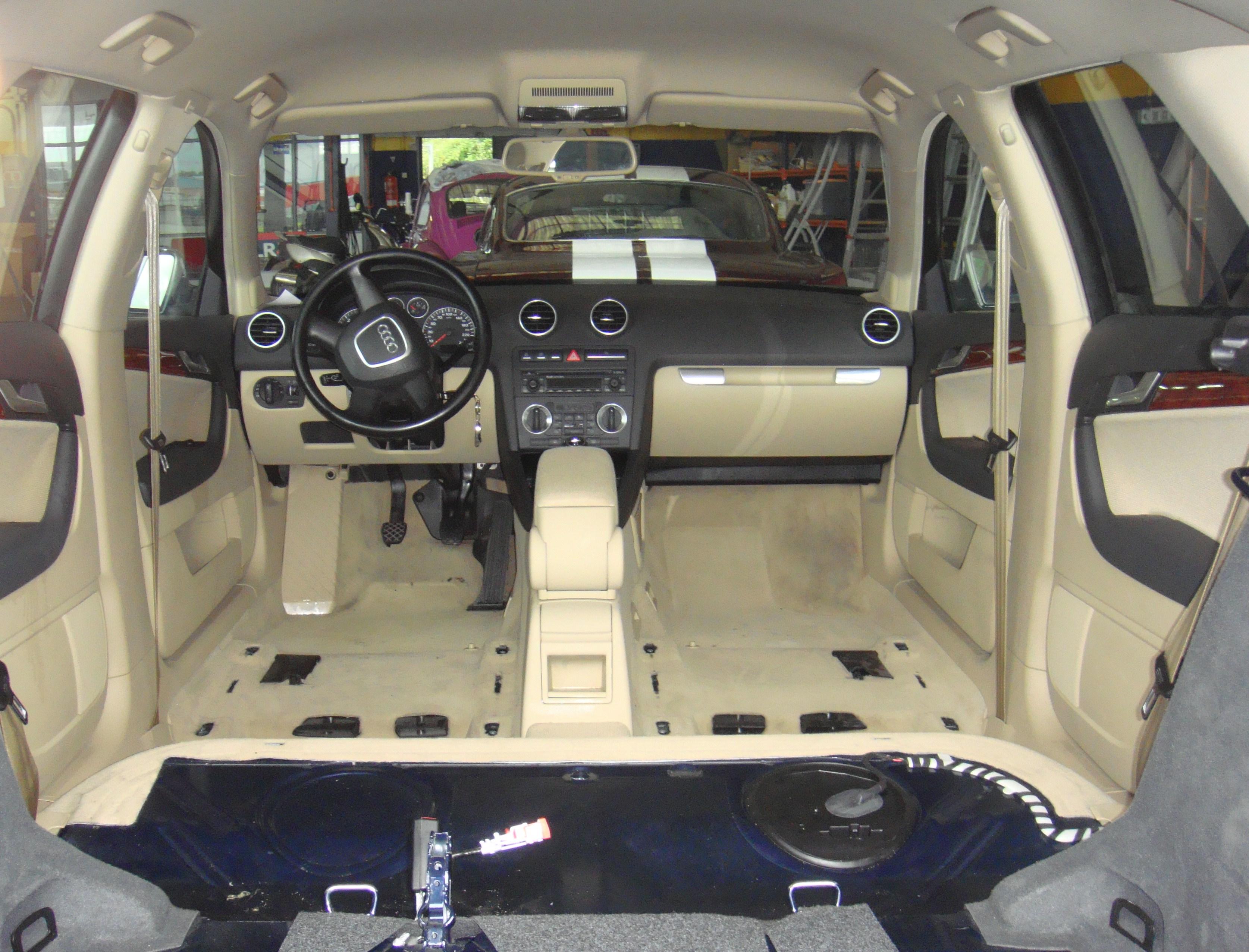 Limpieza tapicer as de veh culos lavado y mantenimiento vehiculo industriales - Tapiceros de coches en murcia ...